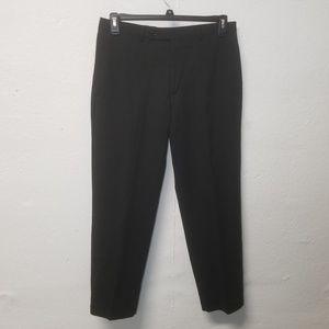 CALVIN KLEIN Wool Black Pants 32 x 30